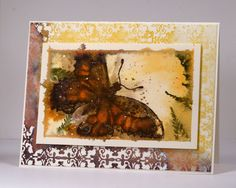 Watercolour butterfly Heather Telford