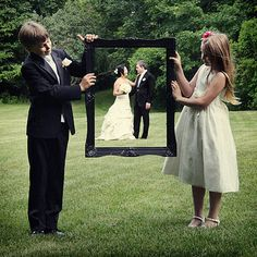 Why you need a ring bearer and flower girl...