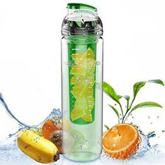 Newest Cycling Sport Fruit Infusing Infuser Water Lemon Cup Juice Bicycle Health Eco-Friendly BPA Detox Bottle Flip Lid