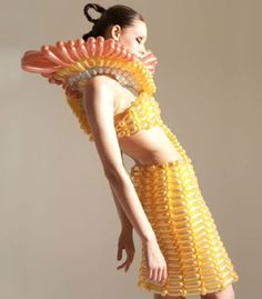 DESIGN FETISH: Crazy Balloon Couture Creations by Daisy Balloom