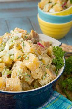 No Potatoes! Potato Salad #paleo #glutenfree #grainfree