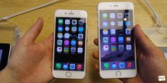 Hands on: iPhone 6 + iPhone 6 Plus