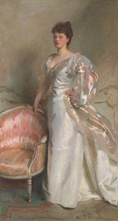 John Singer Sargent  American, 1856-1925  Mrs. George Swinton (Elizabeth Ebsworth), 1897  Art Institute Chicago