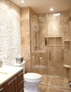 master bathroom tile shower in tampa florida 9x18
