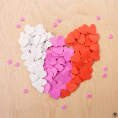 We help our students learn about the color by sorting cut out hearts. Can you find the pink ones?