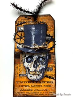 Hi everyone, The 12 tags are always fun to do, but the month of October with a Halloween tag, that really makes me extra happy! Tim has made for the 12 tags or 2015 - October a masterful tag with his