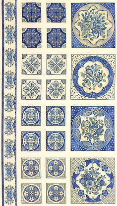 Miniature Printables - Blue Tiles - KADUTCIV.