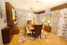 Great composition BUT filled with overtrends (the antler branches, the same rug seen in a million catalogs, etc).