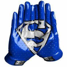 Under Armour F4 Super Hero Football Gloves - Men\u0027s - Royal/Red/White