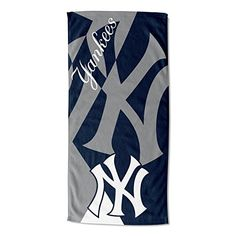 Camping & Outdoor The Northwest Company Nw-203990 Mlb New York Yankees Strength Printed Fleece ...