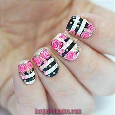 35 diseños de arte de uñas para uñas cortas