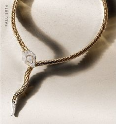 Channeling the creative life force through woven gold and silver and brilliant new gemstones, John Hardy's Legends Cobra necklaces bend the boundaries between this world and the next