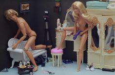 FAMOUS BARBIES   Mariel Clayton and Barbie killed Ken   koikoikoi