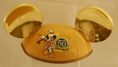 Youth Golden Mickey Ears