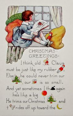 postcardiva postcard blog: Whitney REBUS CHRISTMAS Postcards