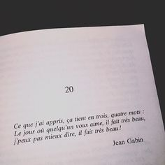 Book Quotes, Words Quotes, Life Quotes, Sayings, French Flashcards, French Language Lessons, Love Phrases, Sweet Words, New Love