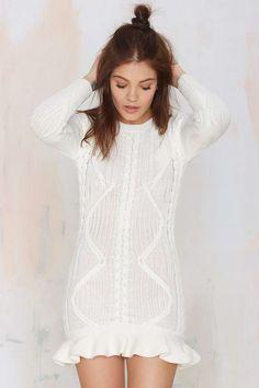 UNIF Alleger Sweater Dress | Nasty Gal