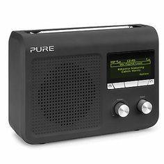 Pure One Flow Black DAB Digital, FM & Wi-Fi Internet Radio with Stream Function 5055257694774 | eBay