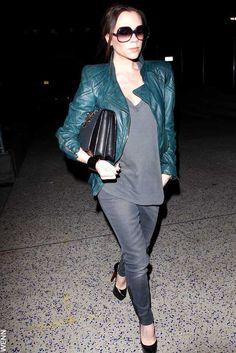 Victoria Beckham - stylishly pregnant celebrities