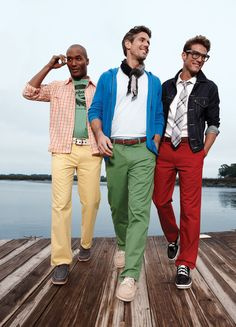 Options? Got them. Colored pants in every color of the rainbow ... and more! #Dockers #Kohls