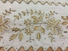 ottoman turkish great gold embroidery cloth FOR SALE • $175.00 • See Photos! Money Back Guarantee. ottoman turkish great embroidery gold towel with gold metallic threads dimensions length:101cm width:73cm 232238870858
