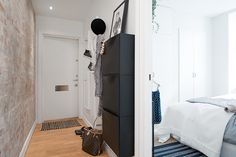 some ikea storage for your hallway