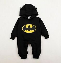 Pudcoco Winter Newborn Baby Boy Girls 2018 Sweater Batman Hoodies Romper Jumpsuit Gray or Black Hooded Autumn Warm SS - April 20 2019 at Outfits Niños, Baby Outfits Newborn, Baby Boy Newborn, Toddler Outfits, Baby Boy Outfits, Kids Outfits, Baby Boys, Kids Boys, Toddler Girl