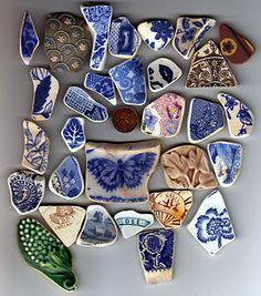 Lovely pottery shards.