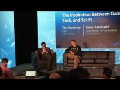 GamesBeat Summit 2017 The Inspiration Between Games, Tech, and SciFi - YouTube
