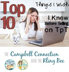 Teachers Pay Teachers - The top 10 things I wish I knew before becoming a seller on TpT! This is my third year selling on TpT and here is what I think you should know. Are you doing everything you can to protect your work?