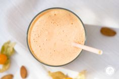 Smoothie-Montag 02: Grapefruit-Mandel-Physalis Smoothie – feiertäglich…das schöne Leben