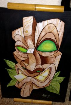 Tiki Mask by Shane O'Brien