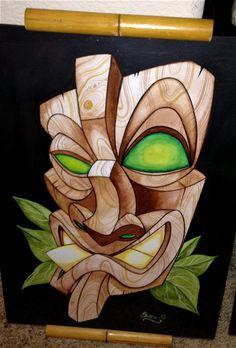 Tiki Mask by Shane O'Brien