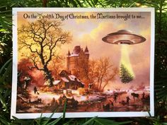 A cosmic christmas by hank davis httpamazondp songs scenes holiday card variety pack fandeluxe Choice Image