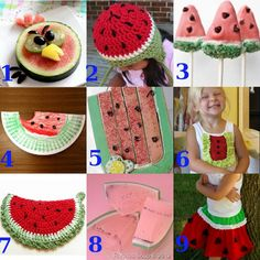 9 Watermelon #crafts for summer