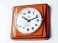 Vintage 70s german JUNGHANS astra quartz Kitchen Wall Clock Pop n. Krups earnes