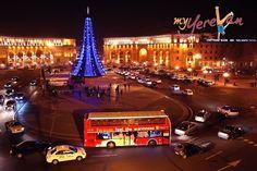 Christmas in Yerevan Armenia