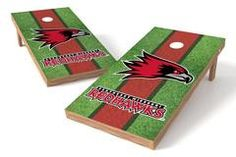 Southeast Missouri State Redhawks Single Cornhole Board - Field