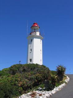 Danger Point lighthouse, Gansbaai, South Africa