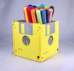 Ideas para Reciclar Disquetes, Accesorios Ecoresponsables, Materiales Reciclados