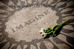 Items similar to Imagine Mosaic Photo from Central Park, NYC on Etsy