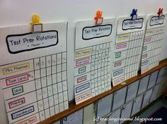 test prep stations are an AWESOME way to get daily test prep in with only 30 minutes a day (from Teaching in Room 6)