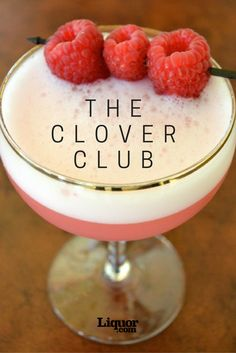 Classics You Should Know: The Clover Club. Your new favorite gin drink is creamy, citrusy and delicious.