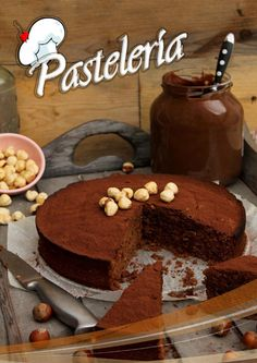 Reposteria by Chio - issuu Easy Chocolate Desserts, Chocolate Shop, Köstliche Desserts, Dessert Recipes, Chocolate Cake, Bunt Cakes, Cupcake Cakes, My Recipes, Sweet Recipes