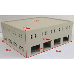 1: 87 1: 100 1: 144 Outland Modeller Railway Scale Factory Model Train Layout Building Model salg - Banggood.com