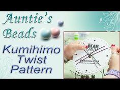 Simple Twist Pattern - Kumihimo Episode 1
