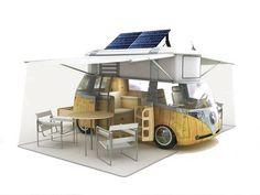 My favorite camper ever!  Environment Automobiles Camping Caravan Cars Ecology Kombi Turism Verdier VW