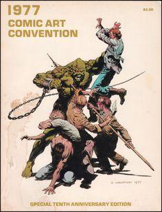 Greystoke Trading Company: 1977 Comic Art Convention Program. Cover art by Bernie Wrightson.