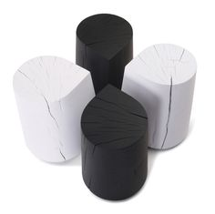 Wooddrop stool by Skram