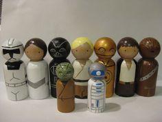 Star Heroes peg dolls set. inspiration